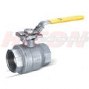 2PC Ball Valve With ISO5211 Top Flanged