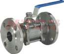 3PC Flanged Ball Valve DIN PN40